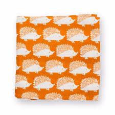 amazon com milk barn baby organic muslin swaddle blanket orange