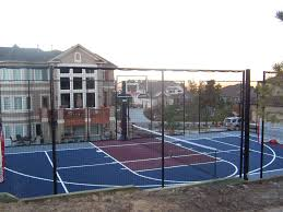 every home is a perfect fit for a sport court basketball court