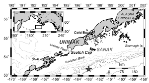 Aleutian Islands Map Near Field Survey Of The 1946 Aleutian Tsunami On Unimak And Sanak