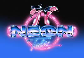 neon talk on behance