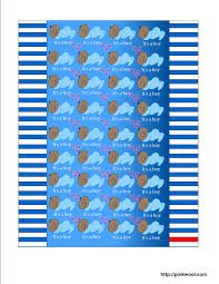 free printable baby shower candy wrappers for and boy showers