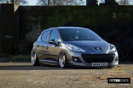 peugeot 207 michael scullin u0027s juiced peugeot 207 fitted state