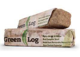 Scented Fireplace Logs by Green Logs Natural And Eco Friendly Fire Starting Logs The