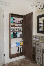 diy bathroom shelving ideas bathroom small bathroom shelving ideas brown glossy curved
