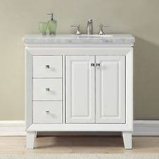 Marble Top Bathroom Cabinet Blossom 36
