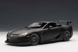 lexus lfa price canada lexus lfa nurburgring package matte black by autoart 1 18 78839