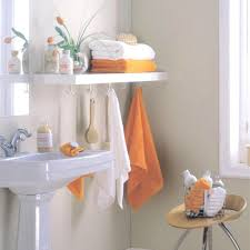 Shelving Ideas For Small Bathrooms by Very Small Bathroom Storage Ideas Wall Lamps Toilet And Flower