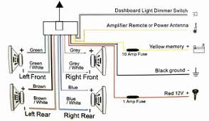 car stereo wire diagram car wiring diagrams instruction