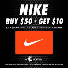 buy a gift card sold out get a free 10 nike gift card the egifter
