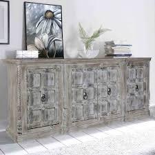 light grey 4 door rustic furniture sideboard buffet cabinet care