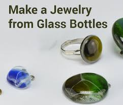 How To Make Fused Glass Jewelry - make jewelry from glass bottles 5 steps with pictures