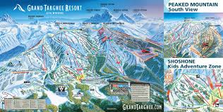 Colorado Ski Resort Map by Grand Targhee Trail Maps Grand Targhee Resort