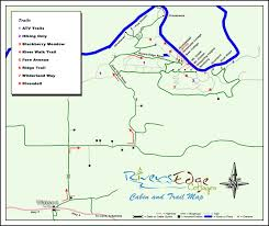 Property Line Map Property Map Rivers Edge Cottages