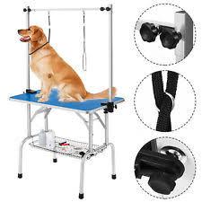 diy dog grooming table adjustable height grooming table home ideas