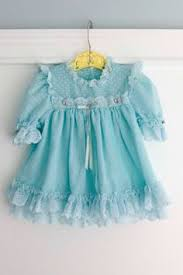 3 6 months white and blue eyelet baby dress