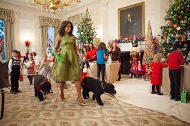 a look back at all of the obama family white house christmases