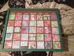 lilly pulitzer dry erase diy calendar i made this using a glass
