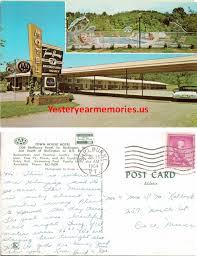 Classic Motel Vermont Postcards