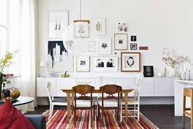 home decorating dining room scandinavian style with wooden dining