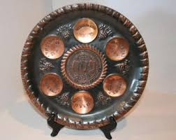 passover seder supplies vintage seder plate etsy