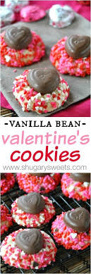 dove chocolate hearts vanilla bean s day cookies with dove chocolate hearts