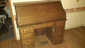 Bradford Desk Bradford Oak Roll Top Desk Antique Appraisal Instappraisal