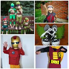 20 easy diy superhero halloween costumes for kids beatnik kids