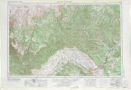 Grand Junction Colorado Map by Grand Junction Topographic Maps Co Ut Usgs Topo Quad 39108a1