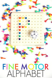 alphabet dice letter formation fine motor activity the ot toolbox