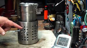 siege caddie b stanley c cook pot with the ikea hobo stove boil test 1