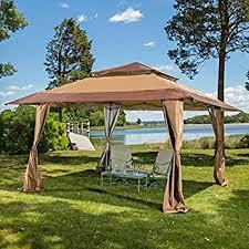 Patio Tent Gazebo 13 X 13 Pop Up Canopy Gazebo Great For Providing