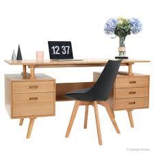 Computer Desk Oak Computer Desks Scandinavian Computer Furniture Style Office Desk