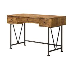 Industrial Office Desks by Amazon Com Coaster Home Furnishings Analiese Modern Rustic