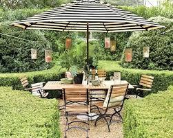 Black And White Patio Umbrella Black And White Striped Patio Furniture Gorgeous Design For