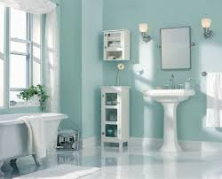 marvelous paint colors for bathrooms bathroom with white tile