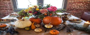 ways to use fall flowers for creative thanksgiving day centerpieces