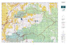 Colorado Elevation Map by Colorado Gmu 421 Map Mytopo