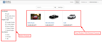 audi drc website product feature odoo apps