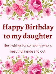 happy birthday card for daughter free birthday daughter ecard
