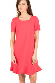 dress corail coral red tara jarmon little soho