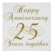 25 year wedding anniversary 25th anniversary invitations 25th anniversary invitation pack of