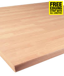 beech butcher block 30mm kitchen worktop savoy timber