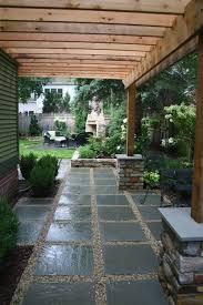 large patio pavers pea gravel patio ideas here u0027s a large slate and pea gravel patio