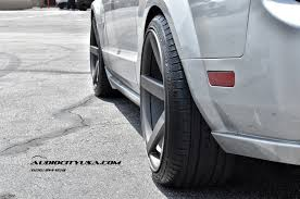 2007 ford mustang tire size 2005 ford mustang gt convertible on 20 str 607 matte grey