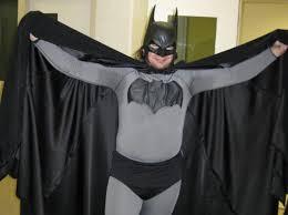 Carrying Halloween Costume Man Dressed U0027batman U0027 Busted Roof Trespassing Carrying