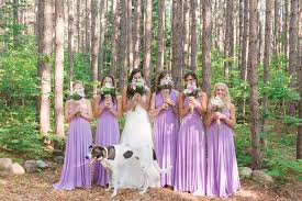 lilac dresses for weddings bridesmaid dress infinity dress lilac floor length wrap