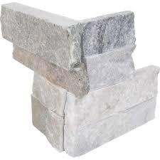 Quartzite Slate Subway Backsplash Tile by Slate Tile Natural Stone Tile The Home Depot