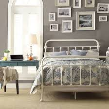 Wood And Iron Bed Frames Best 25 White Iron Beds Ideas On Pinterest Metal For Bed Frame 3