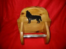 Animal Toilet Paper Holder by Wolf Toilet Paper Holder