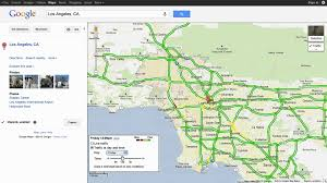Pasadena Ca Map Live And Typical Traffic In Google Maps Youtube
